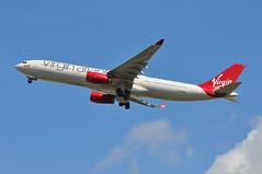 'VS5C' (VS0005) LHR-MIA (A380spotter) Tags: takeoff departure climb climbout gearinmotion gim retraction airbus a330 300x gvwag missengland virginatlanticairways vir vs vs5c vs0005 lhrmia runway27l 27l london heathrow egll lhr