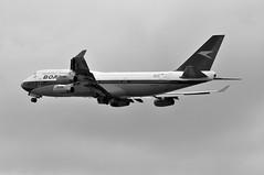 'BA7W' (BA0217) LHR-IAD (A380spotter) Tags: takeoff departure climb climbout gearinmotion gim retraction boeing 747 400 gbygc boacbritishoverseasairwayscorporation goldenspeedbird19661974 britishairways10019192019 centenary retrocolours livery scheme retrojet ba100 baretrojet 2019 internationalconsolidatedairlinesgroupsa iag britishairways baw ba ba7w ba0217 lhriad runway27l 27l london heathrow egll lhr monochrome blackwhite blackandwhite bw