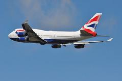 'BA173A' (BA0173) LHR-JFK (A380spotter) Tags: takeoff departure climb climbout gearinmoition gim retraction boeing 747 400 gcivs toflytoserve emblem achievement crest coatofarms internationalconsolidatedairlinesgroupsa iag britishairways baw ba ba173a ba0173 lhrjfk runway27l 27l london heathrow egll lhr