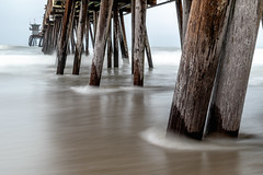 One of my favorite spots (matthew:D) Tags: wood landscape imperialbeach nature water speed slow waves california beach ocean motion unitedstates morning color foreground clouds pier shutterspeed