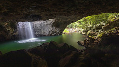 Natural Bridge, Springbrook National Park, Queensland, Australia (MelvinNicholsonPhotography) Tags: naturalbridge springbrooknationalpark queensland australia waterfall cave river glowworms