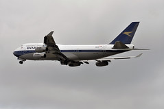 'BA7W' (BA0217) LHR-IAD (A380spotter) Tags: takeoff departure climb climbout gearinmotion gim retraction boeing 747 400 gbygc boacbritishoverseasairwayscorporation goldenspeedbird19661974 britishairways10019192019 centenary retrocolours livery scheme retrojet ba100 baretrojet 2019 internationalconsolidatedairlinesgroupsa iag britishairways baw ba ba7w ba0217 lhriad runway27l 27l london heathrow egll lhr