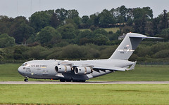 rch982 usaf travis c-17a 06-6156 after landing at shannon 1/6/19. (FQ350BB (brian buckley)) Tags: rch982 usaf c17a travis einn 066156