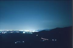 (✞bens▲n) Tags: pentax lx boots 200 carl zeiss 35mm f24 flektogon film slide analogue night dark longexposure nightscape gunma japan