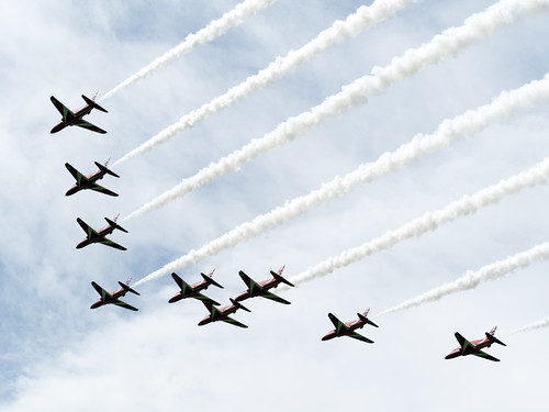 Red ARrows over Chawleigh 2