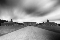"""fine art black & white long exposure of the huge and elegant Hopetoun House  near Queensferry, West Lothian, Scotland (grumpybaldprof) Tags: """"hopetounhouse"""" """"nearqueensferry"""" """"westlothian"""" scotland garden park forest """"firthofforth"""" pond castle house hopetoun """"statelyhouse"""" queensferry 16991701 """"marquessoflinlithgow"""" """"williambruce"""" 1721 """"williamadam"""" """"johnadam"""" """"robertadam"""" 1752 """"charleshope"""" """"kinggeorgeiv"""" """"abercorncastle"""" """"earlsofhopetoun"""" bw blackwhite """"blackwhite"""" """"blackandwhite"""" noireetblanc monochrome """"fineart"""" ethereal striking artistic interpretation impressionist stylistic style contrast shadow bright dark black white illuminated mood moody atmosphere atmospheric """"wideangle"""" ultrawide """"longexposure"""" """"neutraldensity"""" nd building architectures canon 80d """"canon80d"""" sigma 1020 1020mm f456 """"sigma1020mmf456dchsm"""""""
