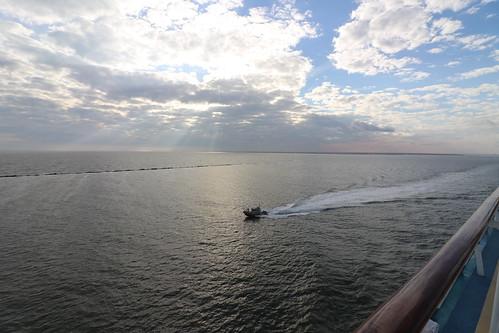 Charleston Harbor (South Carolina)  - From the Royal Caribbean Grandeur of the Seas -  February 16th, 2019