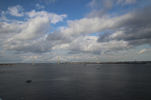 Charleston Harbor (South Carolina)  - From the Royal Caribbean Grandeur of the Seas -  February 16th, 2019