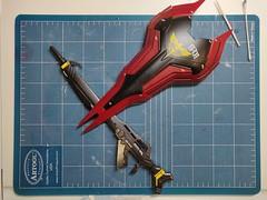 IMG_20190601_123707 (KayOne73) Tags: mg sazabi ver ka gunpla plamo chars counterattack gundam model plastic robot mecha kit figure toy wip