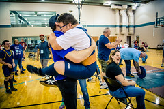Excitment and laughter (rg69olds) Tags: 05242019 5dmk4 canonef24105mmf4lisusm canoneos5dmarkiv nebraska athlete canon omaha people special specialolympics sport volunteer weightlifting huggs laughter excitment celebration powerlifting deadlift