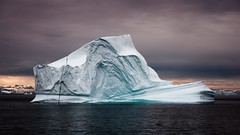Giant Iceberg - Scoresby Sund Greenland (H and R Photography) Tags: ambassador arctic art aurora blue buy buyphotography cafe cold decor decorating expeditions explore fjord for geographic glacier global greenland home hotel ice iceberg ideas landscape mountains natgeo national nature nikkor nikon ocean office pack polar professional remote scoresbysund sea sky snow sunrise sunset travel unique warming water wild wollongongphotographer