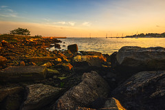 Seaside-Park-Bridgeport-CT-USA_05312019-26 (LBSimmsPhotography) Tags: golden sunset view background beach colorful connecticut culture horizonoverwater landscape natural nature ngc northamerica outdoor scenic serene sky spring travel vibrant water