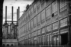 Bethlehem Steel, Central Tool Annex (thomashoustonphoto) Tags: bw bethlehemsteel blackandwhite historicbethlehem lehighvalley steelstacks thomashouston abandoned bethlehem blastfurnace brick canvas factory historic industrial industry metal rust urbandecay