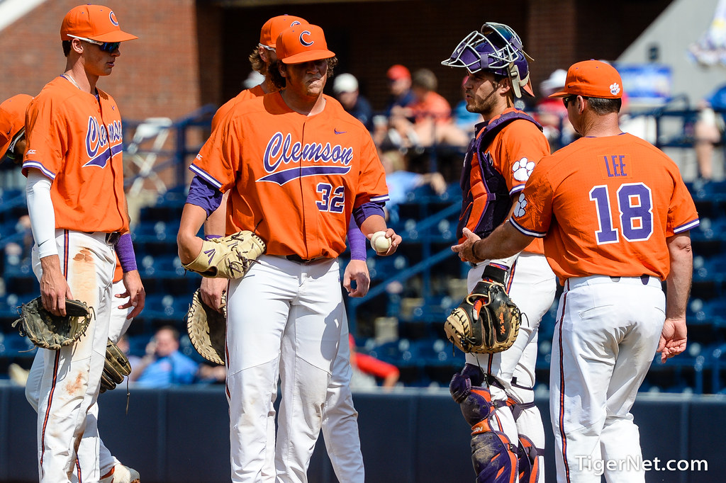 Clemson Photos: 2019, Baseball, Jacob  Hennessy