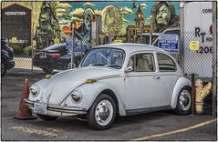 VW Bug (NoJuan) Tags: olympus14150 em1 olympusem1 olympus microfourthirds micro43 mirrorless seattlewa washingtonstatedowntowns pacificnorthwest georgetown volkswagen vw vwbug vwbeetle