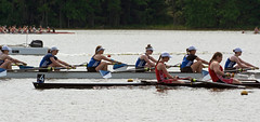 May 31, 2019: NCAA women's rowing championships, Division III-I Eights, Wellesley boat (carpingdiem) Tags: ncaawomensrowingchampionships rowing 2019 eaglecreekpark wellesleycollege