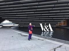 At the V&A Dundee (Hecuba's Story) Tags: dundee va