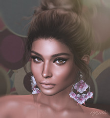 are you watching me? (babibellic) Tags: secondlife sl glamaffair avatar aviglam blogger beauty babigiobellic bento babibellic portrait people hair head genusproject girl game virtual promagic