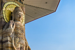 Wat Putthanimit, Wat Phu Khao , Kalasin, Thailand (www.icon0.com) Tags: big nimit building beautiful buddha thailand golden landmark day sky image old statue thai history ancient phuttha traditional background peace style worship religious church bright tourism kalasin peaceful gold tourist quiet architecture art asia asian sculpture wat buddhism religion stone outdoor pagoda calm face attraction culture khao temple phu travel