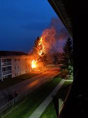 Apartment Fire | Lloydminster, AB, Canada. (TheNovaScotian1991) Tags: