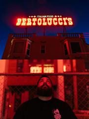 bertolucci's (Duke of Gnarlington) Tags: south san francisco city italian food neon sign portrait diptych sony a7riii zeiss 35mm 14 long exposure night bay area history vsco provia fuji fujifilm 100f