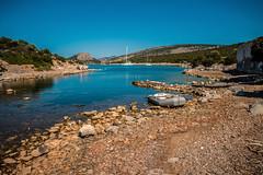 Tranquility....... (Dafydd Penguin) Tags: island anchorage dhokos saronic gulf greece yacht yachting sailboat sailing sail boat cove beach leica m10 21mm super elmar f34