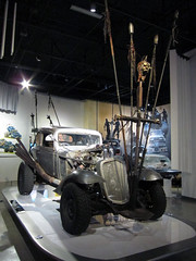 The Nux Car (pr0digie) Tags: petersen automotive museum vehicle movie hollywood car losangeles nux madmax furyroad chevrolet chevy coupe