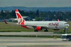 AirCanadaRouge_Boeing767 (arunpnair) Tags: aircanadarouge boeing767