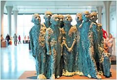 """""""Les copains d'abord"""" 2001 Rétrospective Mady Andrien de 1962 à nos jours, Musée de la Boverie, Liège, Belgium (claude lina) Tags: claudelina belgium belgique belgië liège musée museum laboverie oeuvre sculpture madyandrien"""