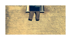 Out to dry ! (CJS*64) Tags: massalubrense italy sorrento colour crossprocessing whiteborder pants trousers wall window cjs64 craigsunter cjs marinadellalobra travel travelling traveller tourist