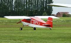 G-BPYJ Wickenby 1-6-19 (marktriumphman) Tags: wittman tailwind wickenby piper