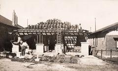 The roofer (Boobook48) Tags: foundphoto australia builder roofer house home newhouse realphotopostcard postcard construction labourer labour tiles rooftiles