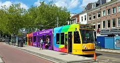 Vers Werk (Peter ( phonepics only) Eijkman) Tags: amsterdam city combino gvb tram transport tramtracks trams trolley rail rails strassenbahn streetcars nederland netherlands nederlandse noordholland holland