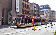 Jackpot (Peter ( phonepics only) Eijkman) Tags: amsterdam city combino gvb tram transport trams tramtracks trolley rail rails strassenbahn streetcars nederland netherlands nederlandse noordholland holland