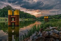 Kersdorfer See (karstenlützen) Tags: germany brandenburg markbrandenburg kersdorfersee riverside waterfront evening