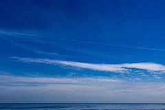Blue (ulbespaans) Tags: nature landscape seascape sea sky minimal minimalistic minimalism lessismore lessismoreoutdoors less cloud clouds horizon ocean coast blue waves