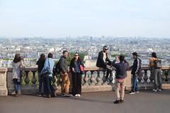 PARIS - CITY SPOTTING (Maikel L.) Tags: europa europe frankreich france francia paris montmartre sacrecoeur people touristen tourists watching city cityscape urban capital hauptstadt skyline