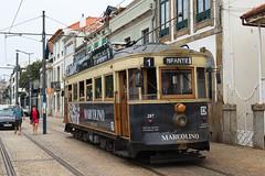 STCP 287 - Porto (rvdbreevaart) Tags: stcp porto tram trammuseum strassenbahn streetcar openbaarvervoer öpnv publictransport transportescolectivos gimp nikon d3300