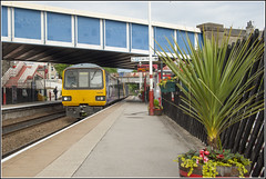 Final Pacer Odyssey... (RyanTaylor1986) Tags: northern train 144006 pacer brighouse railbus