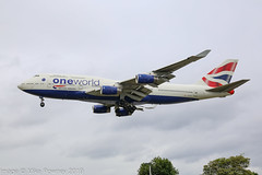 G-CIVL - 1997 build Boeing B747-436, oneworld logojet inbound to Heathrow (egcc) Tags: 1108 27478 b744 b747 b747400 b747436 ba baw boeing britishairways egll gcivl heathrow jumbojet lhr lightroom london logojet oneworld