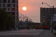 Sunrise under Construction (CJ Burnell) Tags: 6ixwalks 680news blogto canadianphotographer celebratetoronto cp24 itoronto instagramcjbphotography1 the6ix torontoclx torontoguardian torontophotographer queensquay toronto spring morning streetphotography sunrise cityscape views cjbphotography