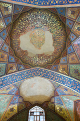Fresques (hubertguyon) Tags: iran perse persia asie asia moyen proche orient middle east ispahan esfahan ville city palais palace quarante forty colonnes columns