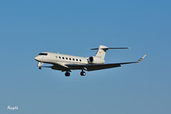 Santiago de Compostela (**REGFA**) Tags: jet privado gulfstream g650 avion santiago aena gestair