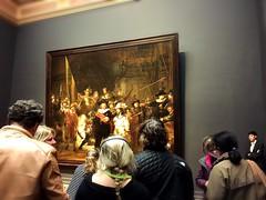 Rijksmuseum, Amsterdam (ChihPing) Tags: 荷蘭國家博物館 阿姆斯特丹 國家博物館 國立博物館 荷蘭 netherlands amsterdam rijksmuseum museum 博物館 iphone 夜巡 night watch 林布蘭 rembrandt