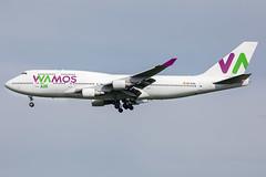 EC-KXN // Wamos Air // B747-4H6 // Stansted (SimonNicholls27) Tags: wamos air 747 boeing b747 stansted egss stn tottenham hotspur champions league final madrid canon 5dmkiv