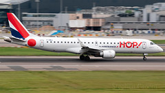 Hop! Embraer ERJ-190 F-HBLI (StephenG88) Tags: londonheathrowairport heathrow lhr egll 27r 27l 9r 9l boeing airbus may20th2019 20519 myrtleavenue renaissanceheathrow embraer e190 erj190 e190std fhbli hop a5 airhop airfrance afr af hopbyairfrance
