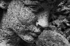 Gesicht / Face (Andreas Meese) Tags: friedhof ohlsdorf statuen statue denkmal memorial monument face faces gesichter hamburg cemetery graveyard nikon d5100 verfall zerfall decay cementerio cimetière cimiteri cemitério cemeteries cementerios friedhoefe cimetières cimiteris cemitérios sw bw schwarz weis black white