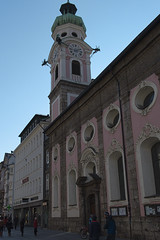 Innsbruck-2018_11 (rhomboederrippel) Tags: rhomboederrippel fujifilm xe1 november 2018 europe austria tyrolia innsbruck clearsky sunny church