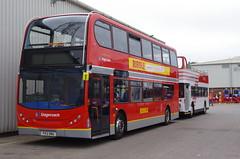 IMGP9896 (Steve Guess) Tags: ribble 100 centenary morecambe lancaster whitelund lancashire england gb uk bus alexander dennis enviro 400 retro heritage livery