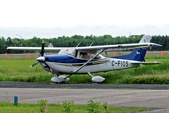 C-FIOS   Cessna 182T Skylane [182-81344] Mascouche~C 08/06/2012 (raybarber2) Tags: 18281344 cn18281344 canadiancivil cfios csk3 filed flickr planebase raybarber single
